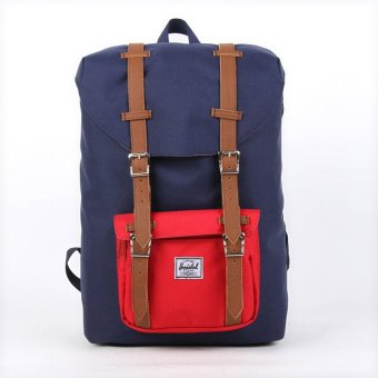 Harga Herschel Supply Co Backpack (Design 1 NavyRed Mid Volume)