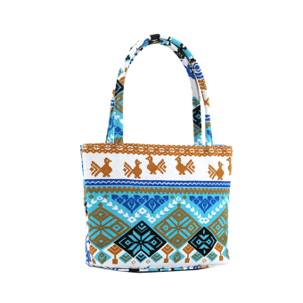 Harga PAlight Women Canvas Printed Beach Handbag
