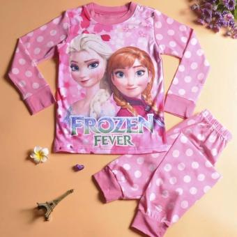 Harga Kids frozen Elsa Anna princess pyjamas