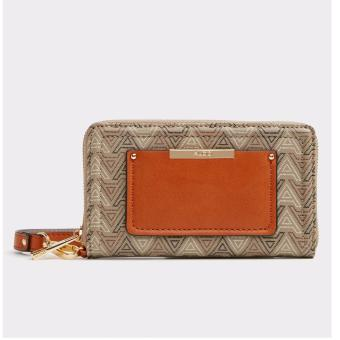 Harga ALDO choctaw wallet with wrist strap- BEIGE Color