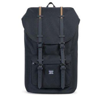 Harga Herschel Supply Co - Little America - Black Gum - Full Volume