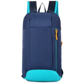 Kids Adults Outdoor Backpack Daypack Mini Small Bookbags10L(Blue)