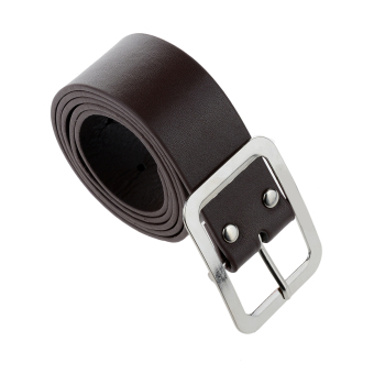 Harga Men's High Grade Leather Belt Coffee
