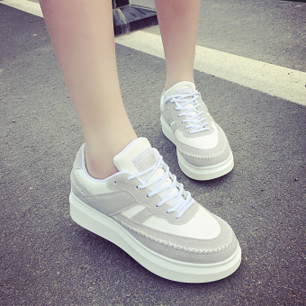Women's Korean-style casual platform skate shoes
