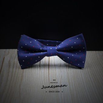 Harga Handmade bow tie groom wedding dress business casual korean version of the blue