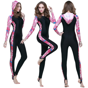Long-sleeved pants body piece swimsuit
