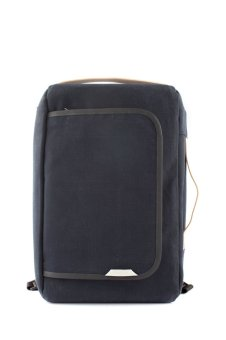 Harga Rawrow Wax Canvas Bagpack (Navy)