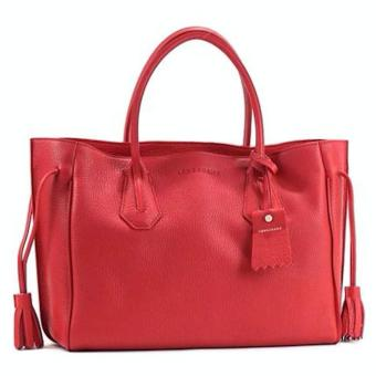 Harga LONGCHAMP PENELOPE MEDIUM TOTE (RUBY RED)