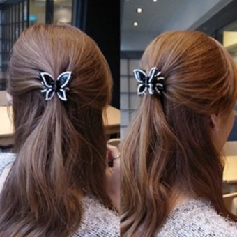 Harga Cute bow hairpin diamond Gripper