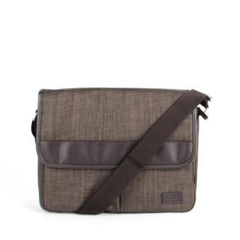 Harga FX Creation's CCQ Messenger Bags-Brown