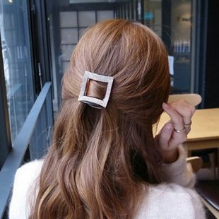 Harga Korean-style diamond square No. Hairpin