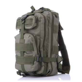 Harga Sheng army mountaineering hiking outdoor sports camouflage military fans backpack shoulder BAG P tactical backpack wholesale factory (Army green)