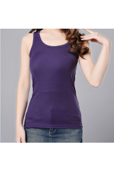 Harga Sleeveless Tank Top (Violet)