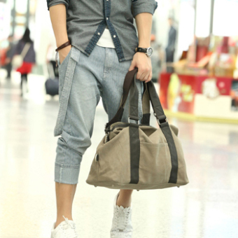 Harga Korean-style canvas male bag man bag