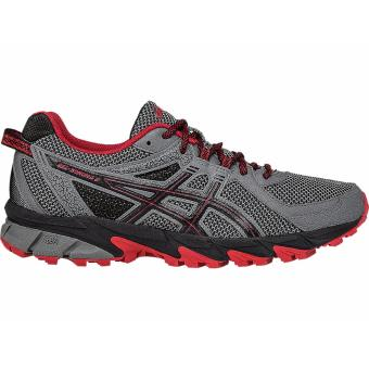 Harga ASICS GEL-SONOMA 2, RUNNING SHOES, (CARBON/TRUE RED/BLACK)