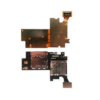 Harga SIM SD Card Holder Reader Flex Cable for Samsung Galaxy Note 2 II N7100