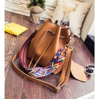 Geraldine Elaine Bucket Bag (Brown)(Int: One size)