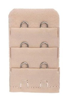 Blue lans Bra Strap Extender Set of 5 (Beige)