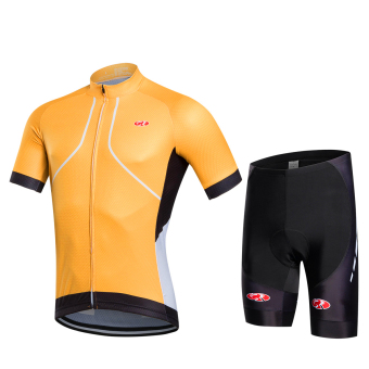 Harga 2016 Fastcute Brand Summer Quick Dry Short sleeve Top and Shorts Cycling jersey Bycicle Bike Breathable Wear Set FC-0310