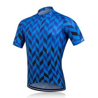 Harga Fastcute Brand Cycling Jersey Short Sleeve Quick Dry Shirt Comfortable Breathable 3D Cushion Tights Sportswear FCS-0418