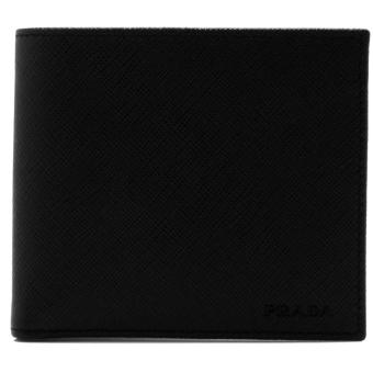 Harga Prada Saffiano Bifold Wallet with Coin Pouch (Nero)