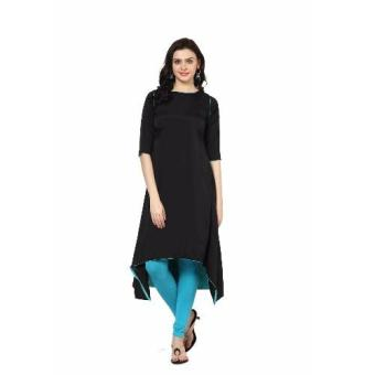 Harga SAWAN SELECTION INDIAN RAYON KURTI(BLACK & ACQUA)