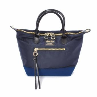 Harga Anello x Legato Largo 2-Way Tote Bag (Small size, Navy) with sling strap crossbody bag shoulder bag