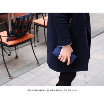 Harga Korean Smart Card Holder Navy