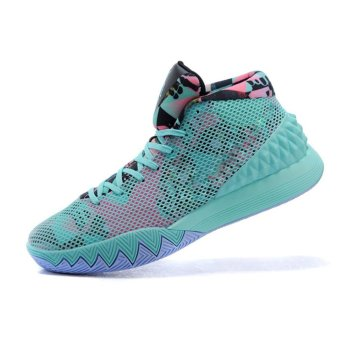 Harga 2017 Sport shoes Kyrie 1 Basketball Shoes Men's Outdoors Sports Low Running Shoes Sky Blue - intl