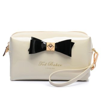 Harga Ted Baker Women Fashion new Style Handbag Cosmetic bag jelly bag package (White) - intl