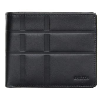 Harga Shilton's Soho wallet with coin pouch - Black