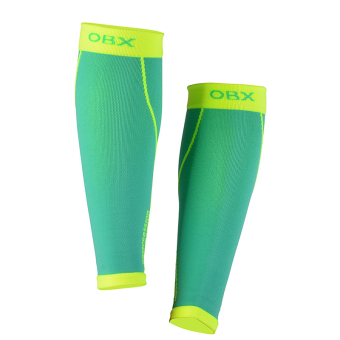SPAKCT OBX Compression Sport Leg Warmers Leg Guard for Running Crossfit Football Lake Blue - intl