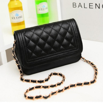 Harga 2015 the new trend of fashion handbags small fragrant wind lingge chain shoulder diagonal small bag lady bag