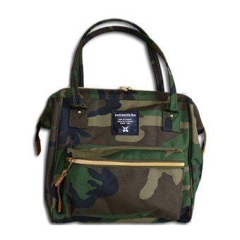 Harga [sun earth &u] Original Japan 2 way shoulder bag Anello Boston bag Japan hot selling (Mini)