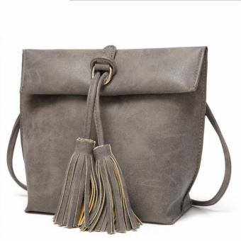 Harga AX STYLES NEW TRENDY YOUNG LADY SHOULDER HANDBAG - G10BA003(GREY)