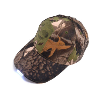 Harga PAlight LED Light Luminous Baseball Hat (Camouflage)