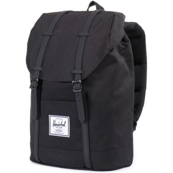 Harga Herschel Supply Co. Retreat Backpack - Black/Black Rubber