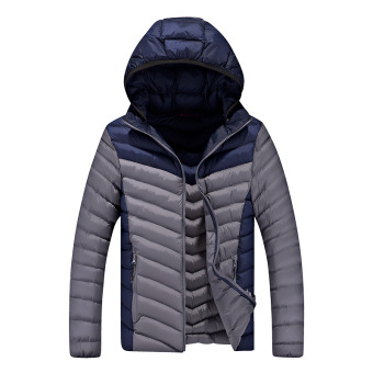 Harga New Arrival Men's Winter Coat Young Men's Winter Coat Thick Padded Jacket Korean Version of The Trend Hot Selling - intl