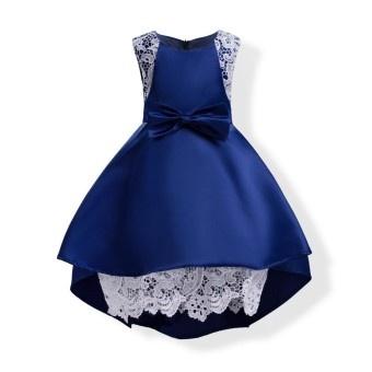 KAITUO Formal Evening Gown Flower Wedding Princess Dress Girls Children Clothing Kids Dresses for Girl Clothes Tutu Party Dress - intl