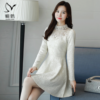 Harga Korean-style mesh autumn New style a word skirt dress (Casual color) (Casual color)