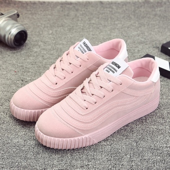 Korean-style student flat sports women shoes spring New style women shoes (K16 pink)