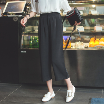 Loose Korean-style female spring New style casual pants wide leg pants