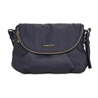 Harga Mango Double Compartment Cross Body Shoulder Sling Bag (Navy Blue)