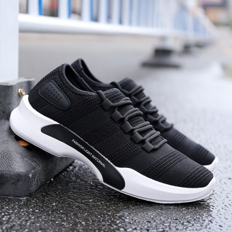 OTO1 breathable canvas sport Casual Shoe Man shoes sneakers (508 black)