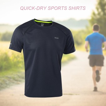 Quick-dry Running Sports Cycling T-shirts Shirts Summer - intl