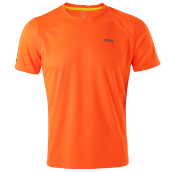 Quick-dry Running Sports Cycling T-shirts Shirts Summer Orange - intl