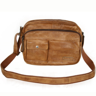 Retro first layer of leather men's leather men's bag shoulder bag