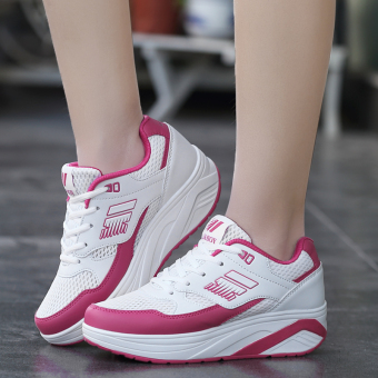 Sports New style mesh breathable rocking shoes (Mesh A966 white plum)