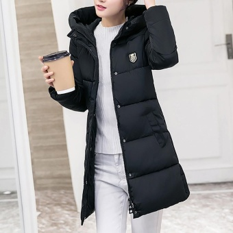 Women Solid Casual Thicker Winter Slim Down Lammy Jacket Coat Overcoat - intl