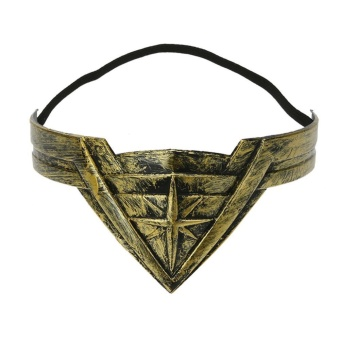 Wonder Woman Cosplay Performance Accessory Hair Clasp Hair Band - intl